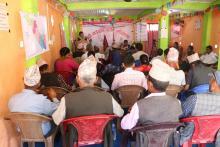 आर्थिक वर्ष ०७६।०७७ को छैटौं गाउँ सभा तथा बजेट अधिवेशन